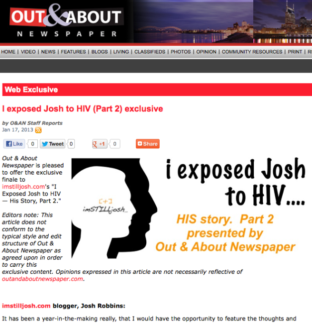 Click to view Part 2 on outandaboutnewspaper.com